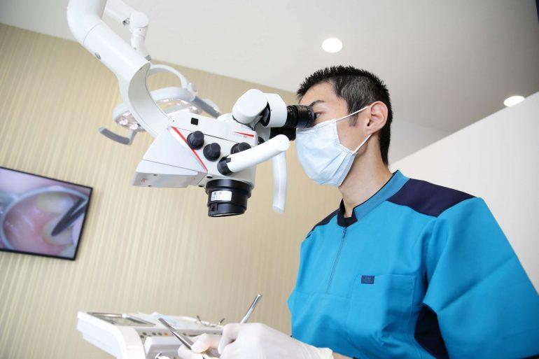 むし歯治療もマイクロスコープで